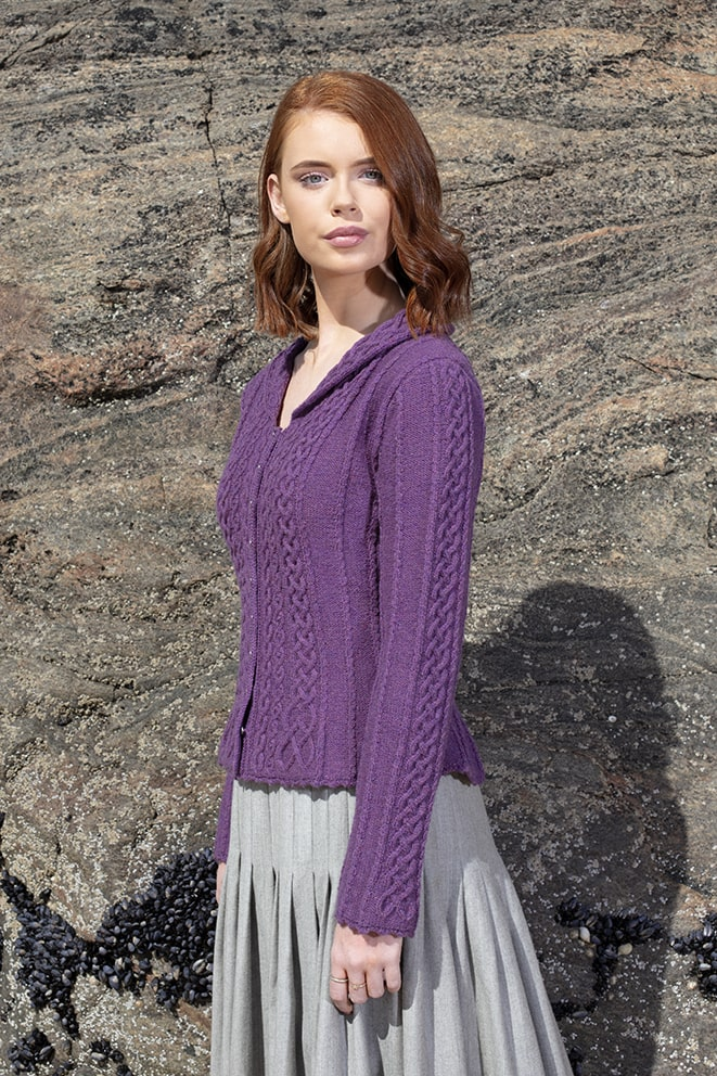 Eala Bhan hand knitwear design from the book Aran Knitting by Alice Starmore