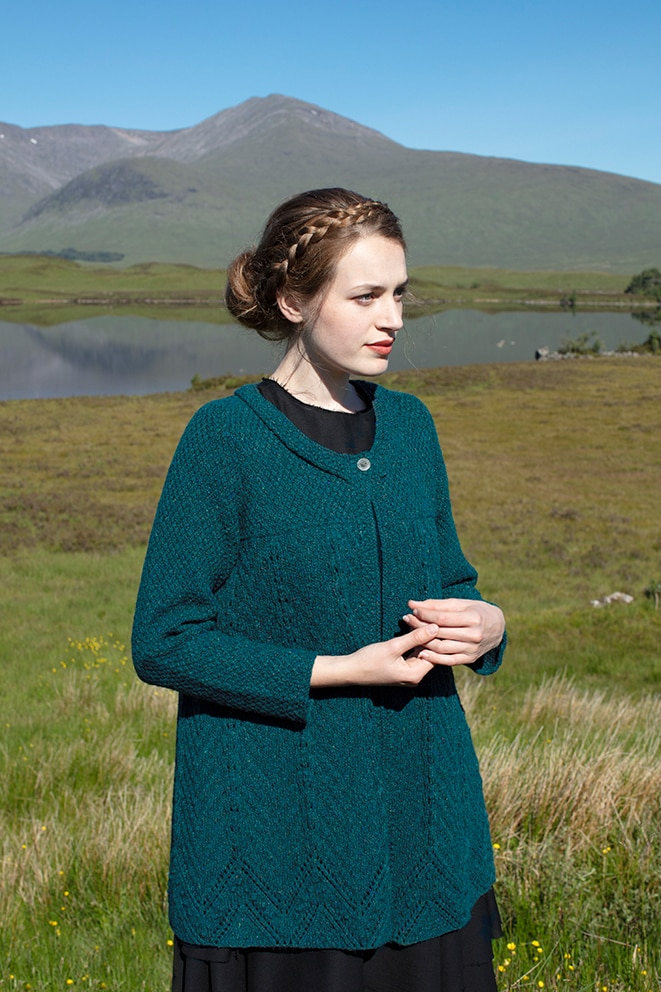 Isobel Of Mar hand knitwear design from the book The Children's Collection by Alice Starmore