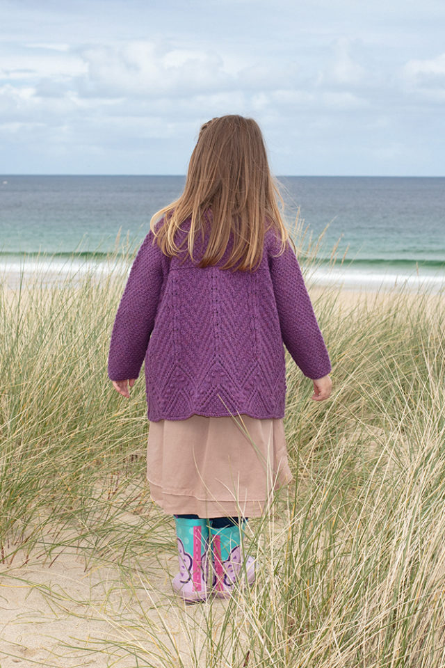 Secret Garden hand knitwear design from the book The Children's Collection by Alice Starmore