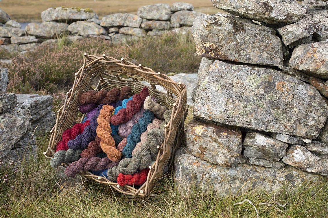 Alice Starmore Hebridean 2 Ply pure new British wool hand knitting Yarn