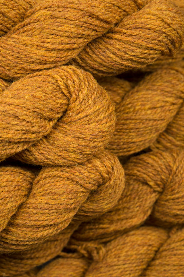 Alice Starmore Hebridean 2 Ply pure new British wool hand knitting Yarn in Golden Plover colour