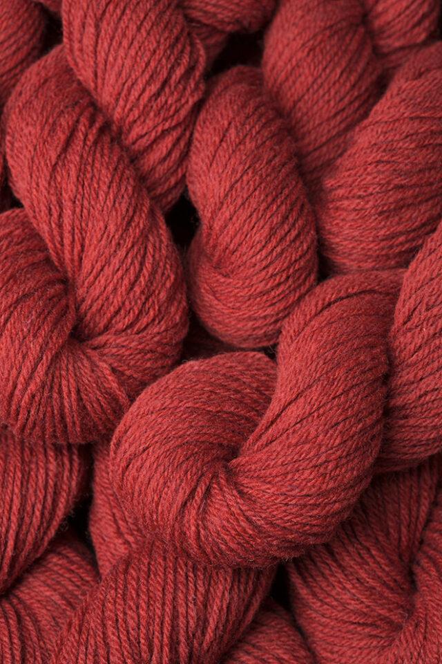 Alice Starmore 3 Ply Hebridean hand knitting yarn in Sea Anemone