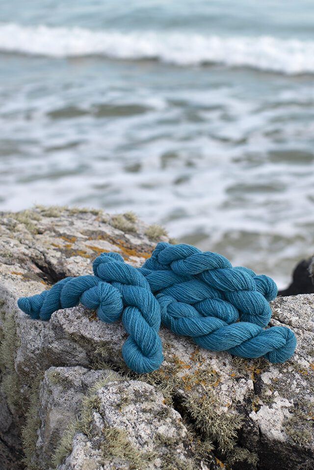 Alice Starmore 2 Ply Hebridean hand knitting yarn in Strabhann