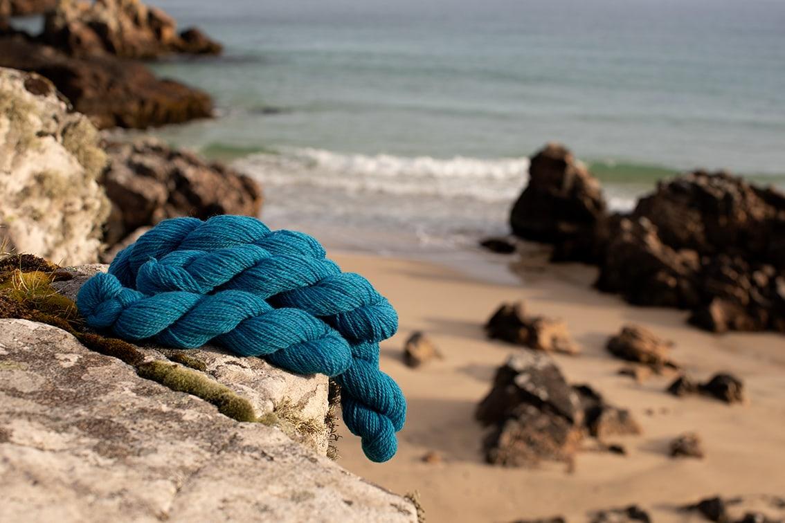 Alice Starmore 2 Ply Hebridean hand knitting yarn in Strabhann