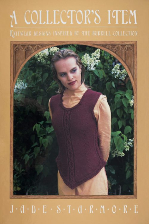 A Collector's Item by Jade Starmore, book of original hand knitwear designs inspired by the Burrell Collection