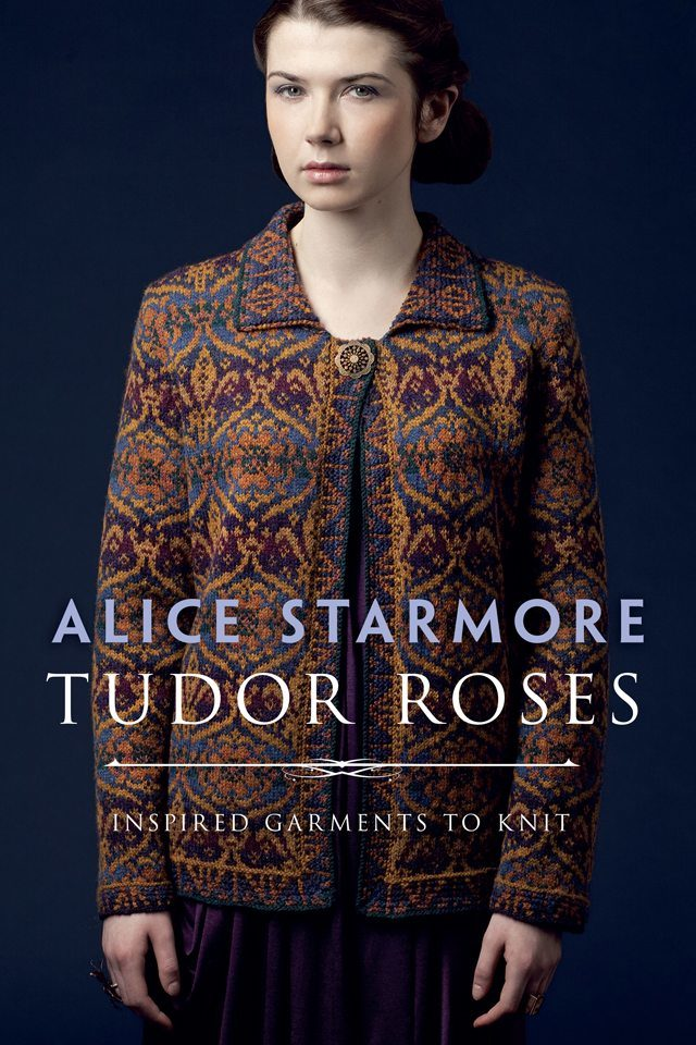 Tudor Roses book of hand knitwear designs by Alice Starmore