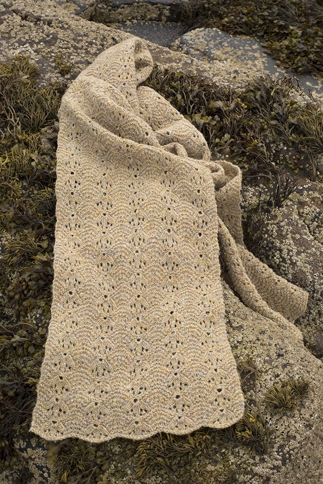 Birdsfoot patterncard kit by Alice Starmore in Hebridean 2 Ply pure British wool hand knitting yarn