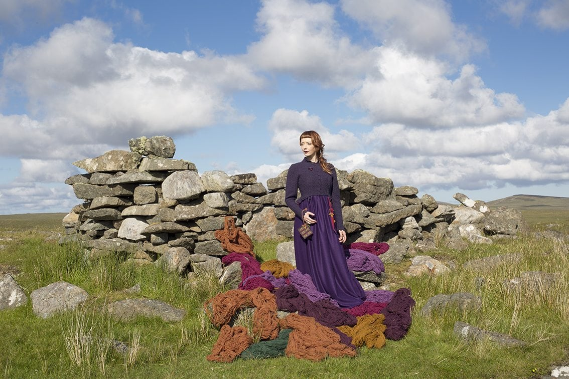 The Caileach costume by Alice Starmore from the book Glamourie