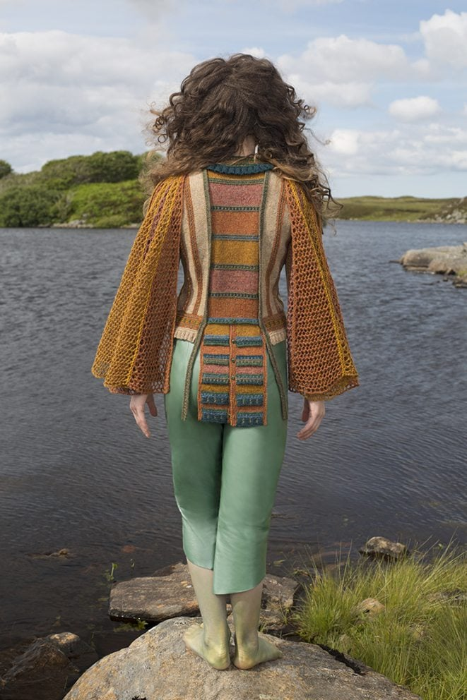 The Damsel Fly costume by Alice Starmore from the book Glamourie