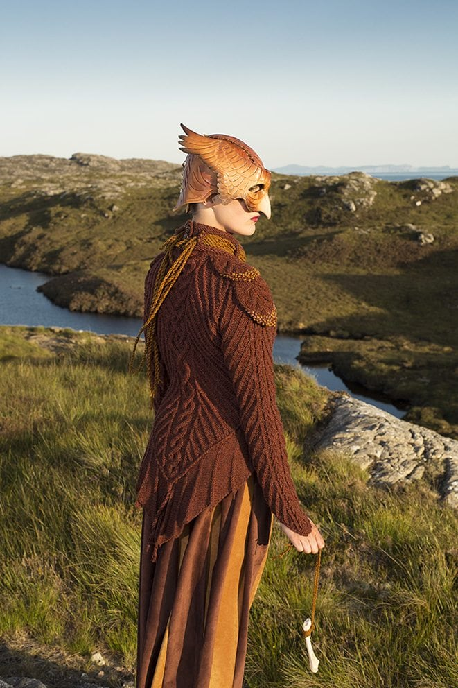 The Eagle costume by Alice Starmore from the book Glamourie