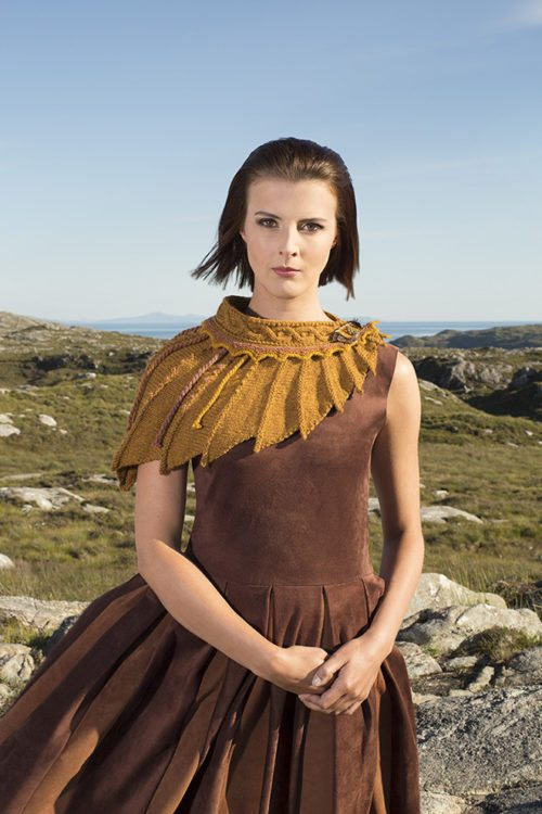The Eagle hand kniting design by Alice Starmore from the book Glamourie