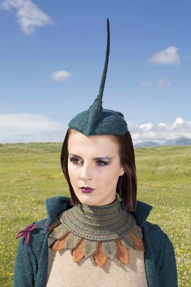 The Lapwing costume by Alice Starmore from the book Glamourie