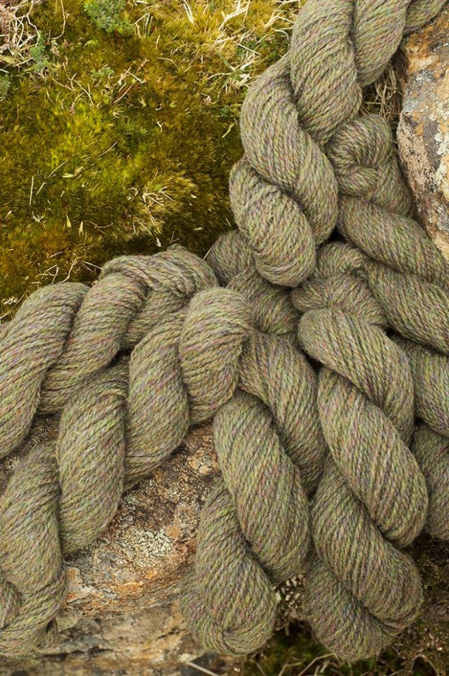 Alice Starmore Hebridean 2 Ply pure new British wool hand knitting Yarn in Machair colour