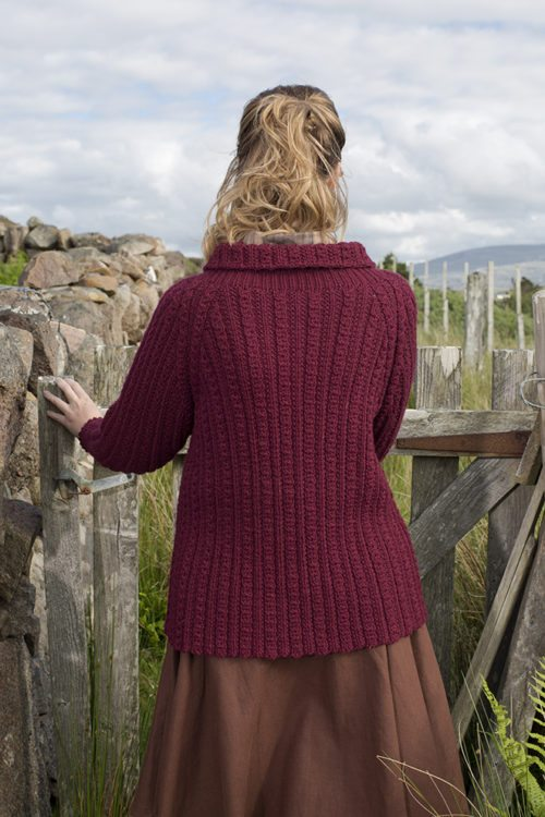 Point Arena patterncard kit by Alice Starmore in Bainin pure British wool hand knitting yarn