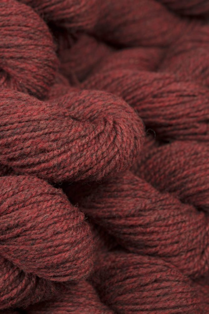 Alice Starmore Hebridean 2 Ply pure new British wool hand knitting Yarn in Red Deer colour