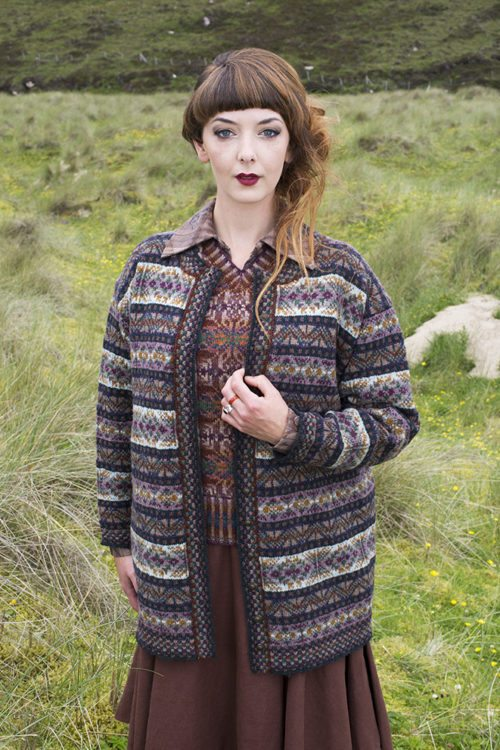 Rona Patterncard Kit By Alice Starmore In Hebridean 2 Ply