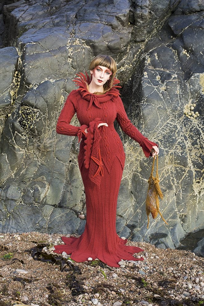 The Sea Anemone costume by Alice Starmore from the book Glamourie