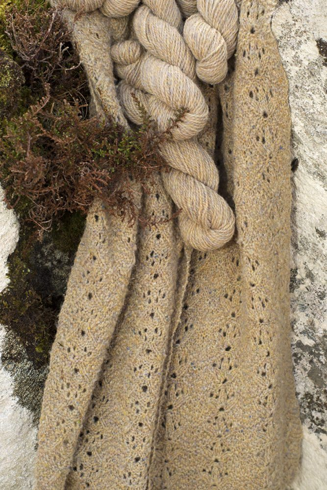 Alice Starmore Hebridean 2 Ply pure new British wool hand knitting Yarn in Spindrift colour