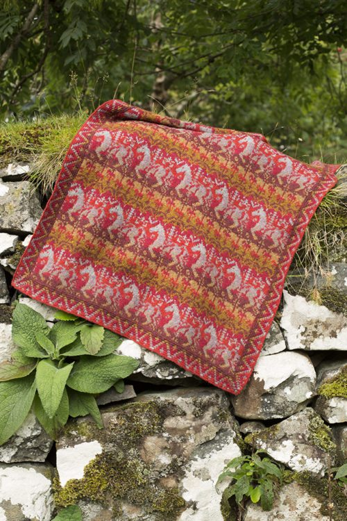 Widdicombe Fair patterncard kit by Jade Starmore in Hebridean 2 Ply pure British wool hand knitting yarn