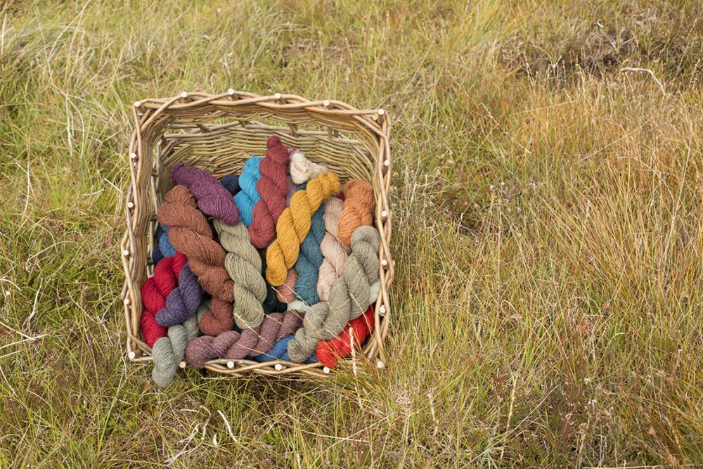Alice Starmore Hebridean Yarn in the Lewis landscape