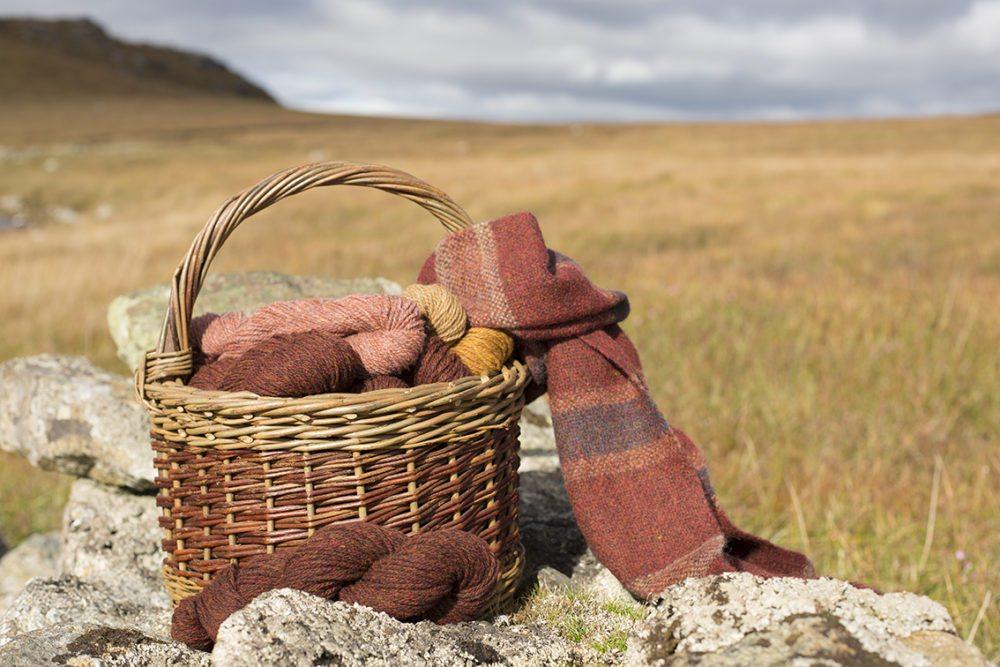 Alice Starmore Hebridean Yarn in the Lewis landscape