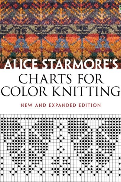 Charts For Colour Knitting Book by Alice Starmore