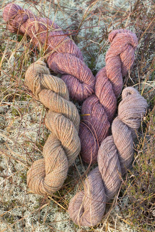 Alice Starmore Hebridean 2 Ply pure new wool hand knitting yarn