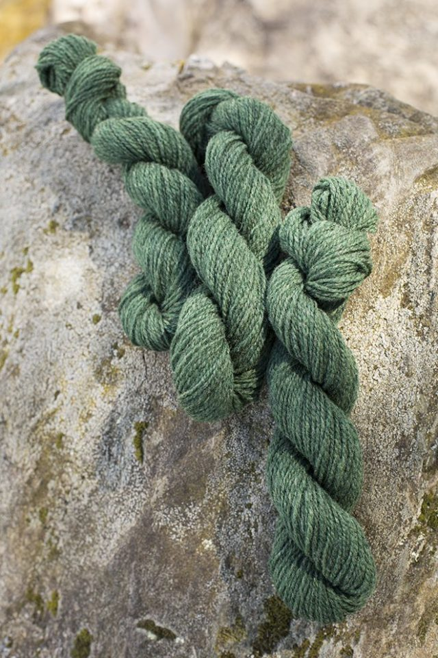 Alice Starmore Hebridean 2 Ply pure new British wool hand knitting Yarn in Bogbean colour