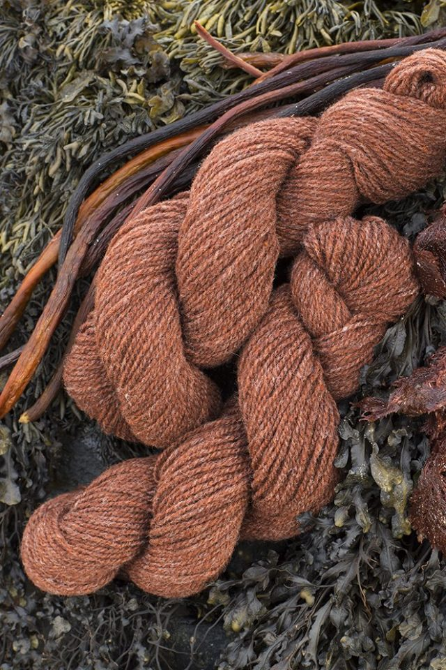 Alice Starmore Hebridean 2 Ply pure new British wool hand knitting Yarn in Crotal colour