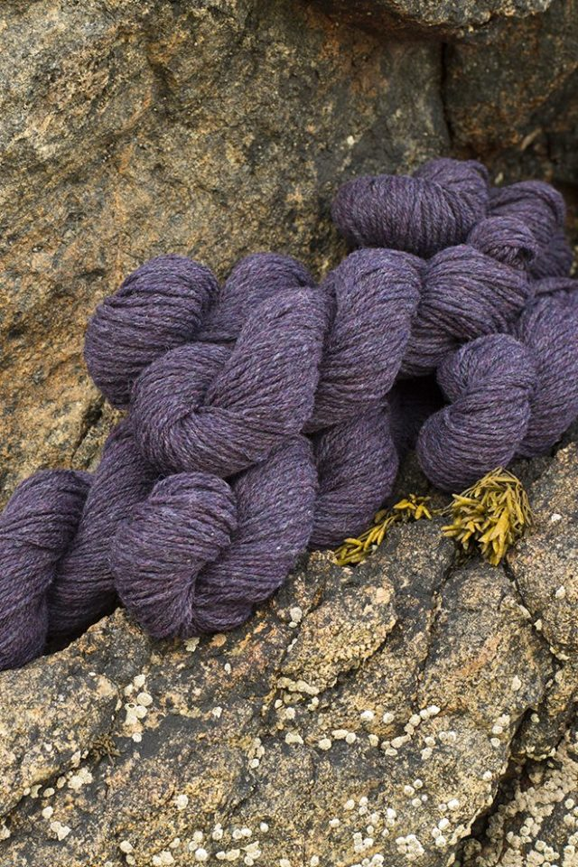 Alice Starmore Hebridean 3 Ply pure new British wool hand knitting Yarn in Limpet colour