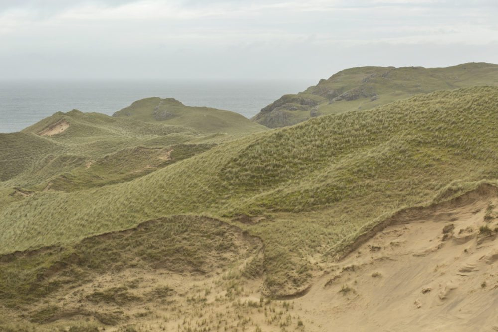Some of the highest dunes in Europe on the Isle of Coll