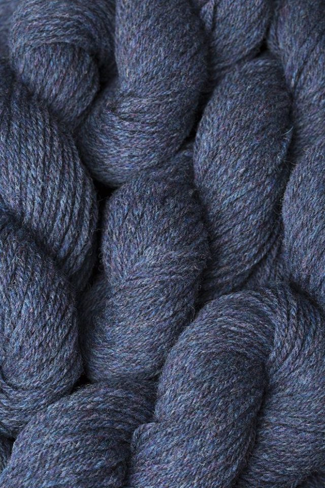 Alice Starmore Hebridean 3 Ply pure new British wool hand knitting Yarn in Storm Petrel colour