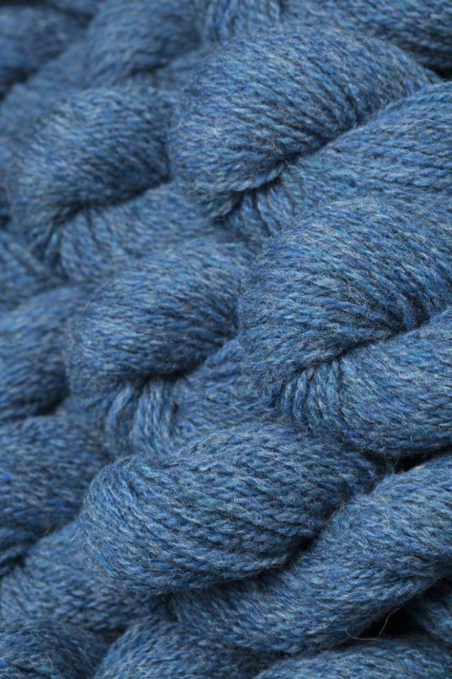 Alice Starmore Hebridean 2 Ply pure new British wool hand knitting Yarn in Summer Tide colour
