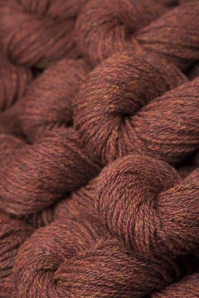 Alice Starmore Hebridean 3 Ply pure new British wool hand knitting Yarn in Tormentil colour