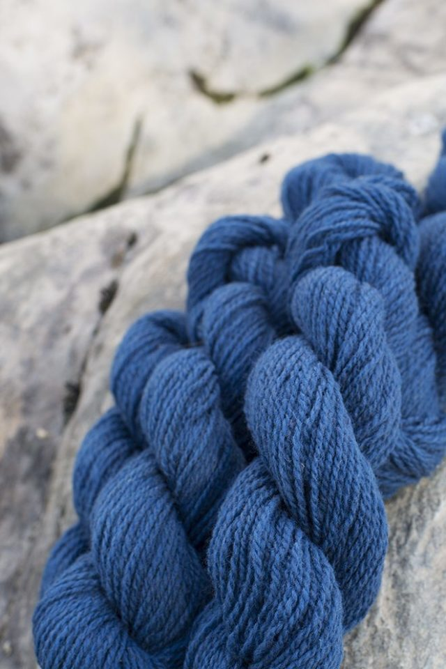 Alice Starmore Hebridean 2 Ply pure new British wool hand knitting Yarn in Mara colour