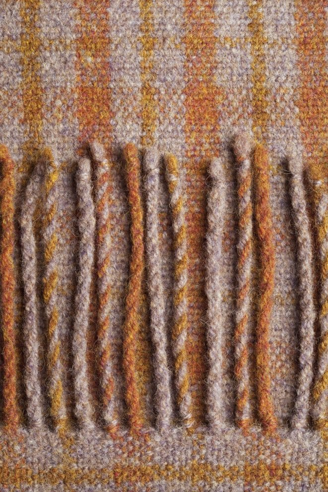 Weaving with Alice Starmore Hebridean Yarns