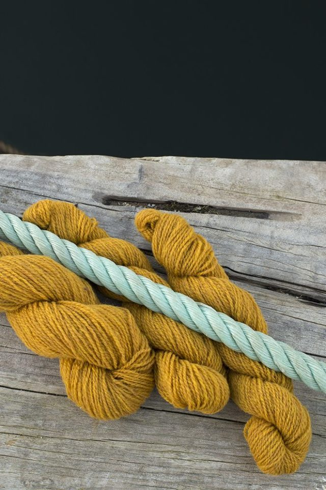 Alice Starmore Hebridean 2 Ply pure new British wool hand knitting Yarn in Whin colour