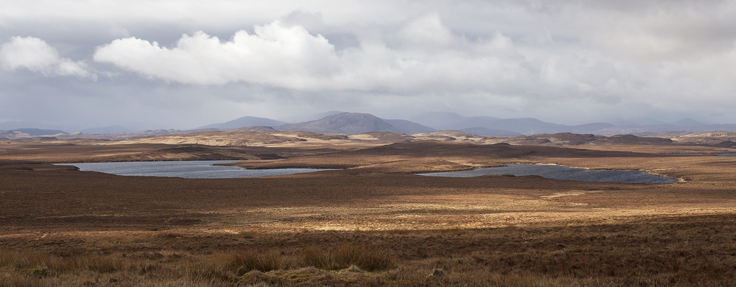 Lewis moorland in winter
