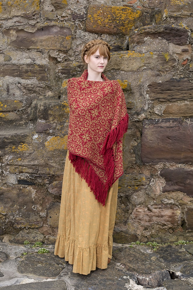 Persian Tiles hand knitwear design by Jade Starmore from the book A Collector's Item
