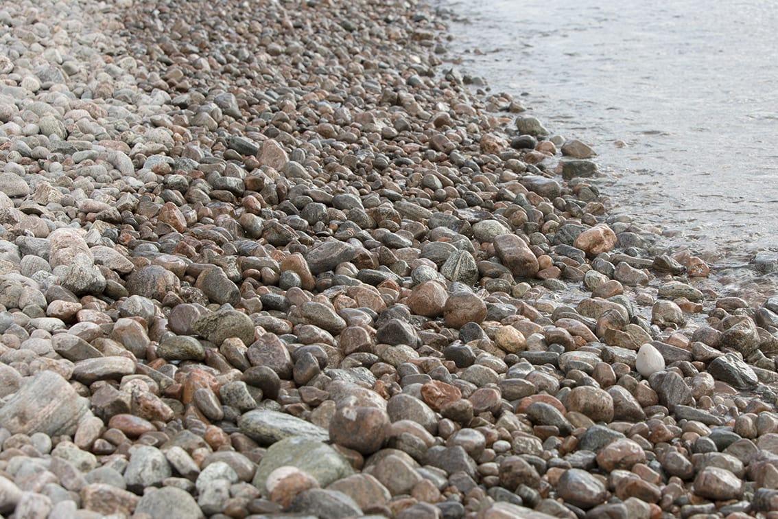 Hebridean Shingle Beach