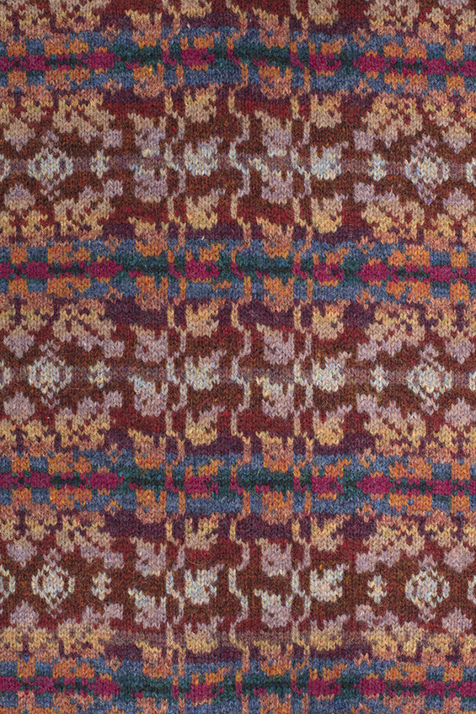 Altnaharra patterncard knitwear design by Alice Starmore in pure wool Hebridean 2 Ply hand knitting yarn
