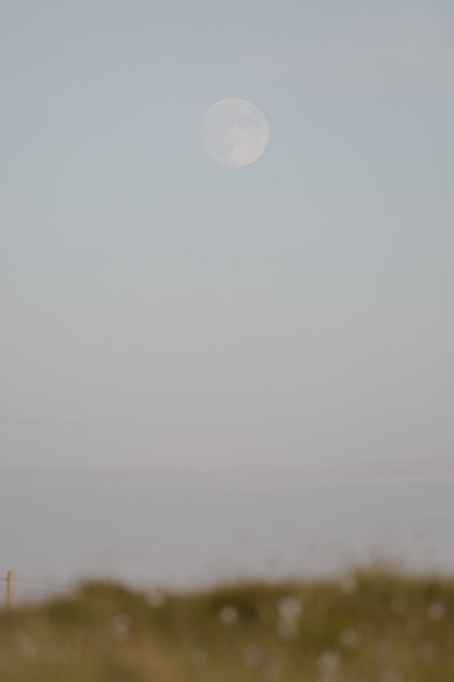 Full moon over the croft