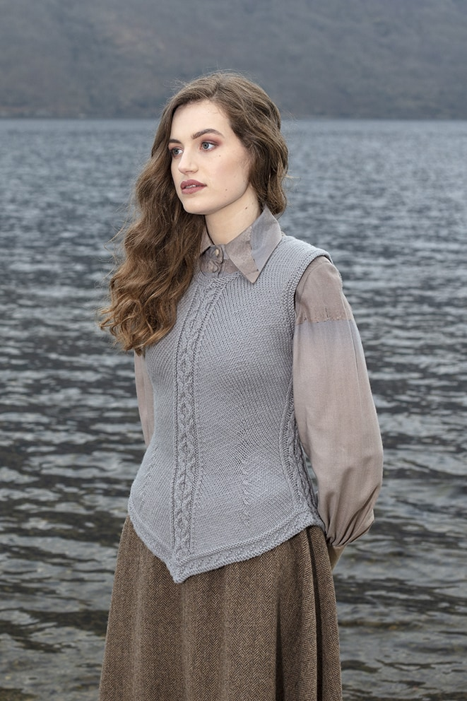 St Catherine hand knitwear design from the book A Collector's Item by Jade Starmore