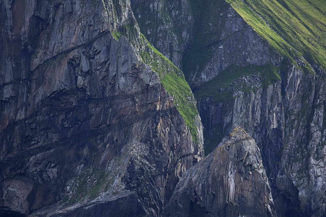 Cliffs at St Kilda