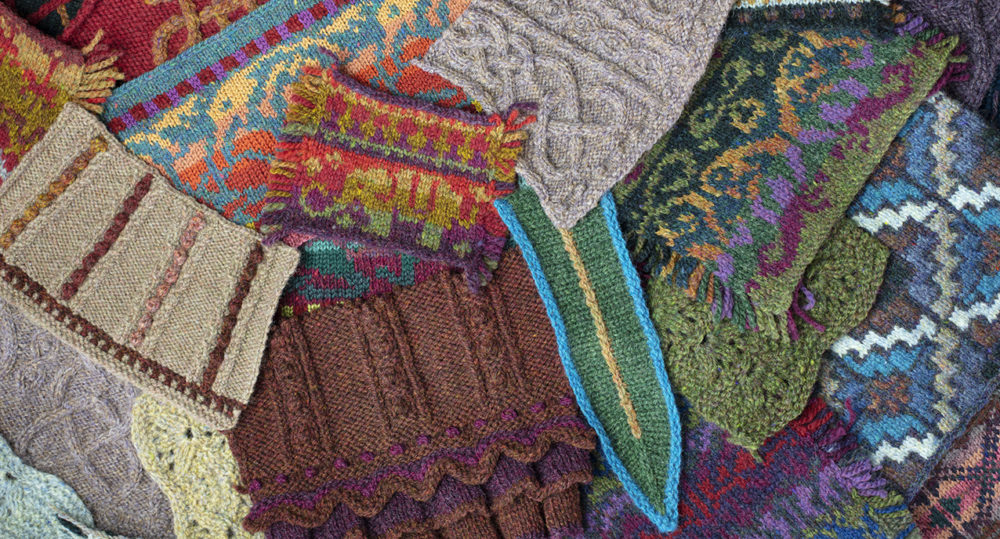 Alice Starmore Hand Knitwear Design Swatches