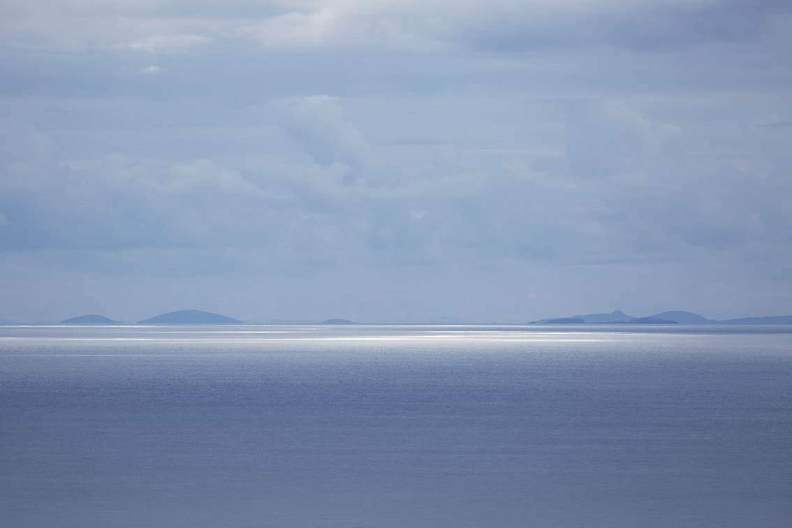The view towards Uist from the Gap on Hirta