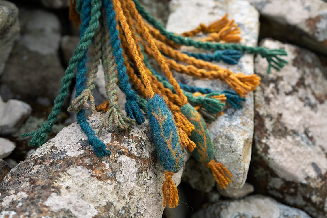 The Heroine's Ropes, Sketches in Wool by Alice Starmore