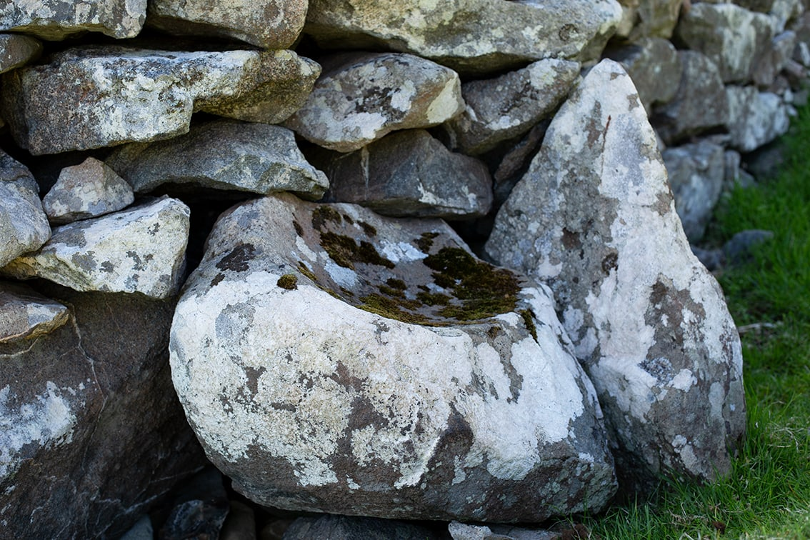 Possibly the Night Stone on St Kilda