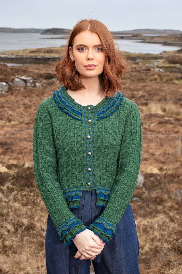 Mary Queen of Scots hand knitwear design from the book Tudor Roses by Alice Starmore