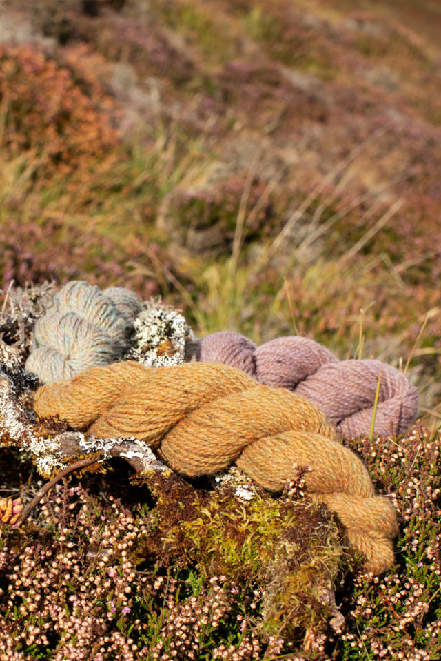 Hebridean 2 Ply Moorland Colours by Alice Starmore